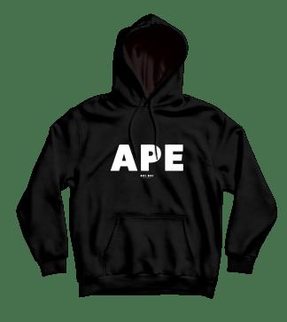 Ape Hoodie Black