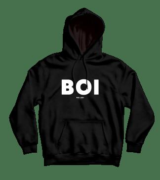 Boi Hoodie Black