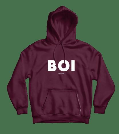 [:en]Boi Hoodie Burgundy[:]