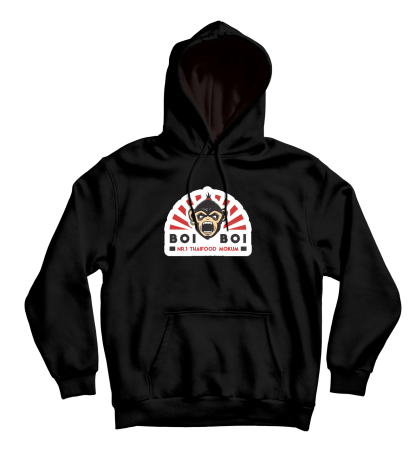 [:en]BoiBoi Logo Hoodie Black[:]