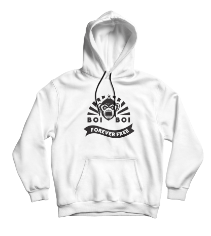 Forever Free Hoodie White