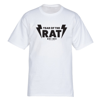 Year of the Rat Tee White