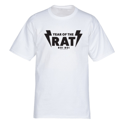 Year of the Rat Tee White