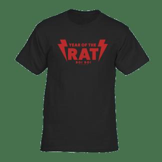 [:en]Year of the Rat Tee Black[:]
