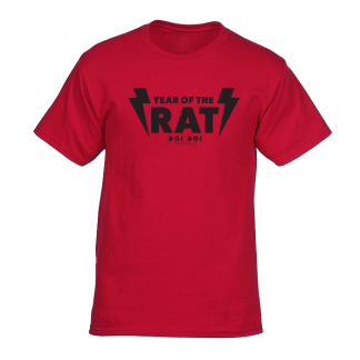 Year of the Rat Tee Red