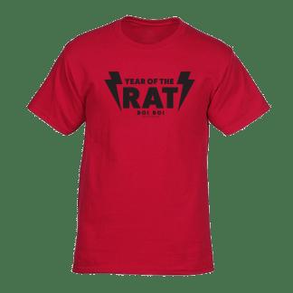 [:en]Year of the Rat Tee Red[:]