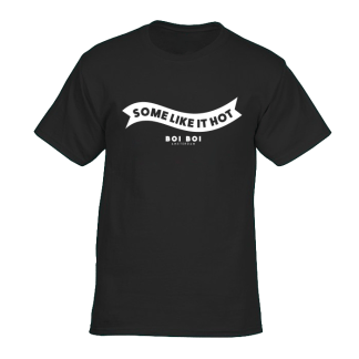 Some Like It Hot Tee Black