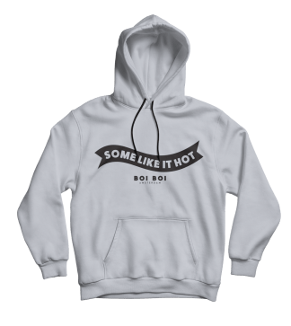 Some Like It Hot Hoodie Gray