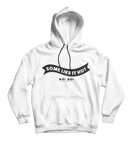 Some Like It Hot Hoodie White