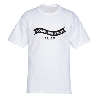 Some Like It Hot Tee White
