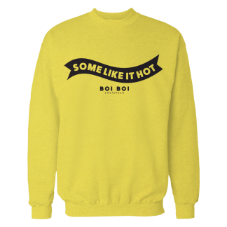 Some Like It Hot Sweater Yellow