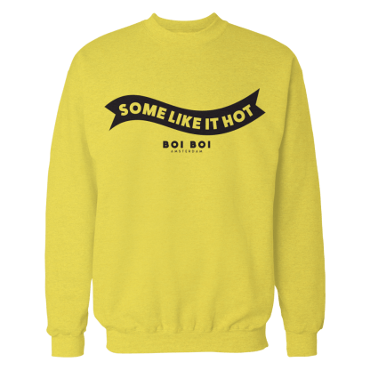 [:en]Some Like It Hot Sweater Yellow[:]