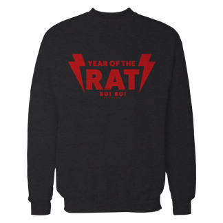 Year of the Rat Sweater Black