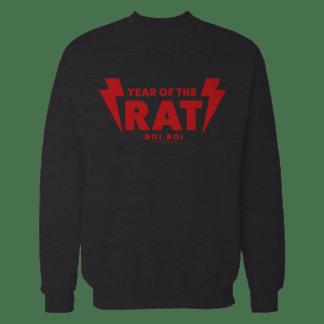 [:en]Year of the Rat Sweater Black[:]