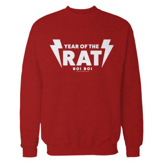 Year of the Rat Sweater Red