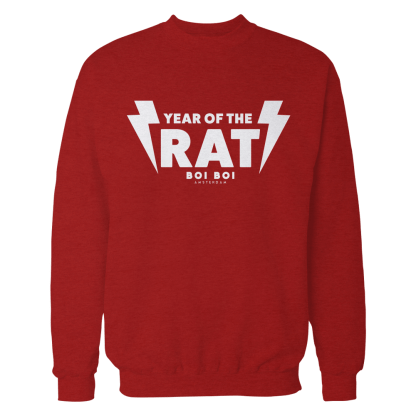 [:en]Year of the Rat Sweater Red[:]