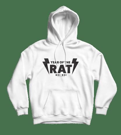 [:en]Year of the Rat Hoodie White[:]