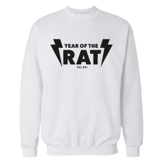 Year of the Rat Sweater White